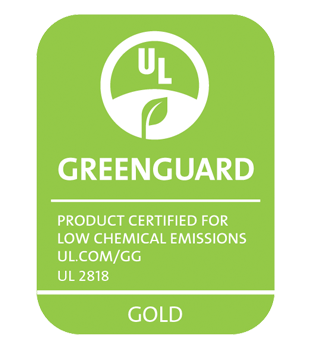 The Advantage ICF System scores a Green Guard Gold rating for sustainability.