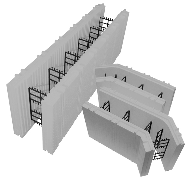 Advantage ICF Blocks are used in commercial, residential, industrial, and agricultural applications.
