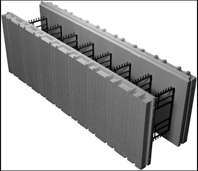 Advantage (ICFs) Insulating Concrete Forms – 8 Inch Standard