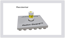 Plasti-Fab Radon Guard insulation for residential construction