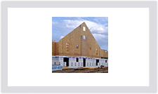 Insulspan SIPS used in commercial construction for wall and roof applications