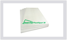 Plastispan 30 is a higher compressive resistance rigid foam insulation for use in under slab applications as well