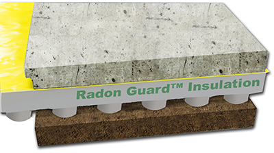 Plasti-Fab  Radon Guard Insulation
